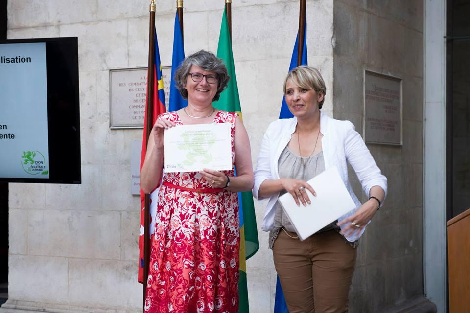 Concertience obtient le label Lyon Ville Équitable et Durable.